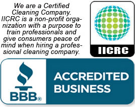 BBB Accredited Business / IICRC Member