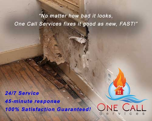 Water Damage One-Call-Services